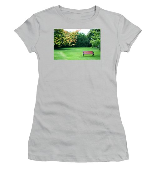 Women's T-Shirt (Junior Cut) featuring the photograph Serenity by Charlie and Norma Brock