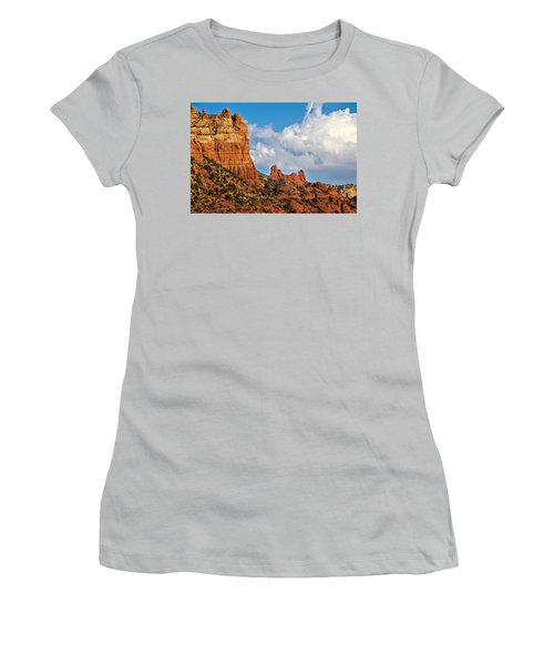 Snoopy Rock Women's T-Shirt (Athletic Fit)