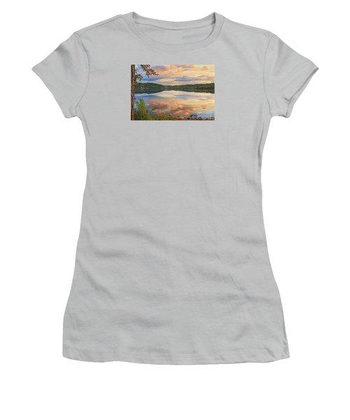 Women's T-Shirt (Junior Cut) featuring the photograph Soddy Lake by Geraldine DeBoer