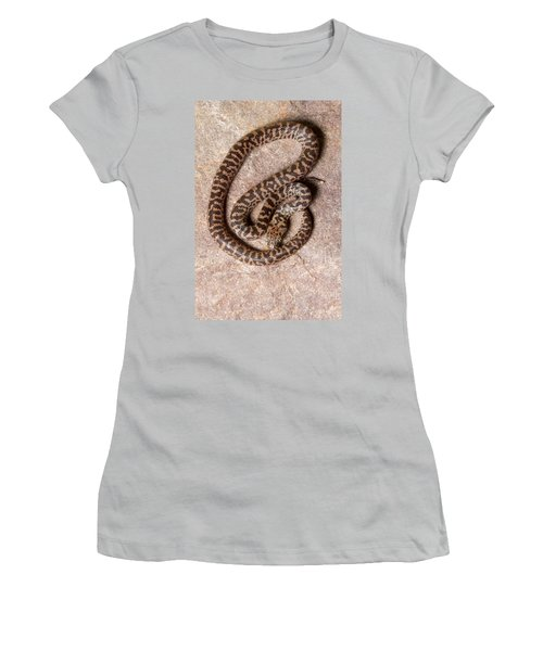 Spotted Python Antaresia Maculosa Top Women's T-Shirt (Athletic Fit)