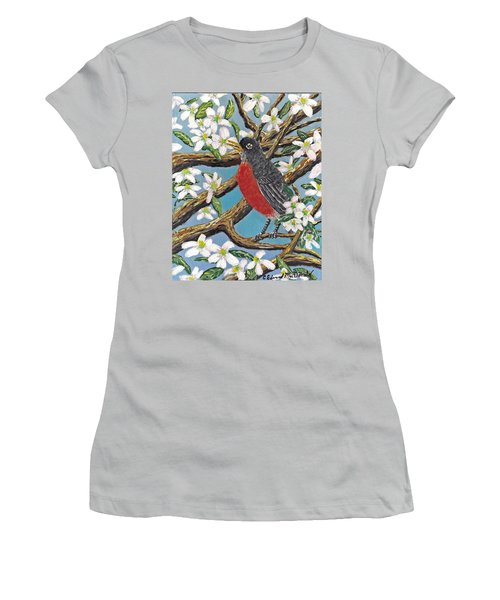 Spring Is Coming  Women's T-Shirt (Athletic Fit)