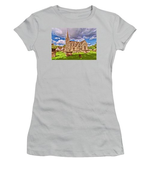 St Cyriac Church Lacock Women's T-Shirt (Athletic Fit)