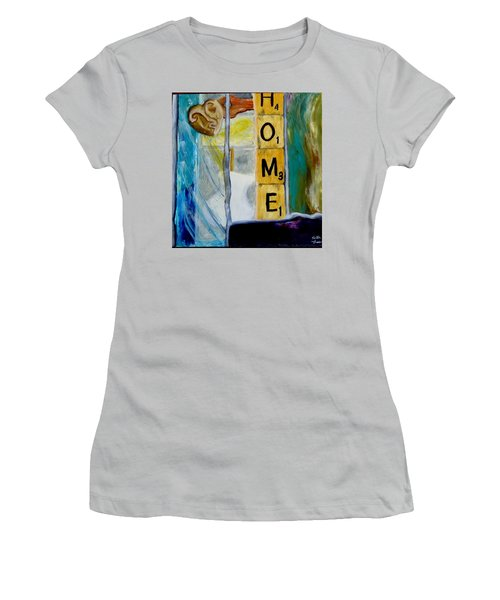 Stained Glass Home Women's T-Shirt (Athletic Fit)