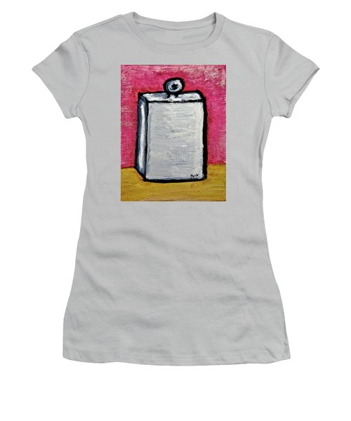 Women's T-Shirt (Junior Cut) featuring the painting Stills 10-004 by Mario Perron