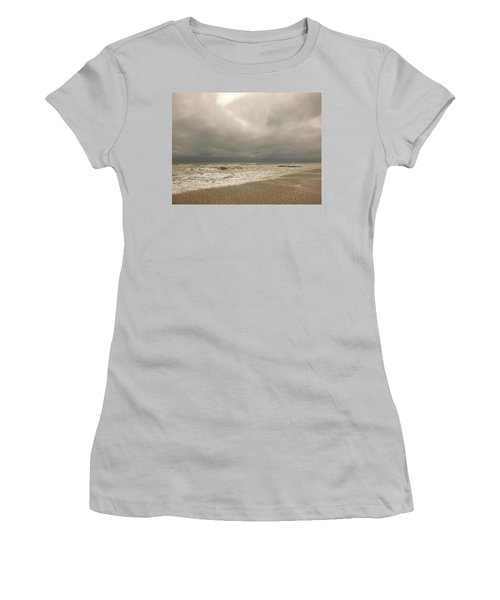 Storm Clouds Women's T-Shirt (Athletic Fit)
