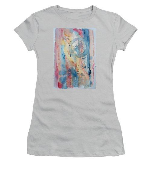 Subtle Peace Women's T-Shirt (Athletic Fit)