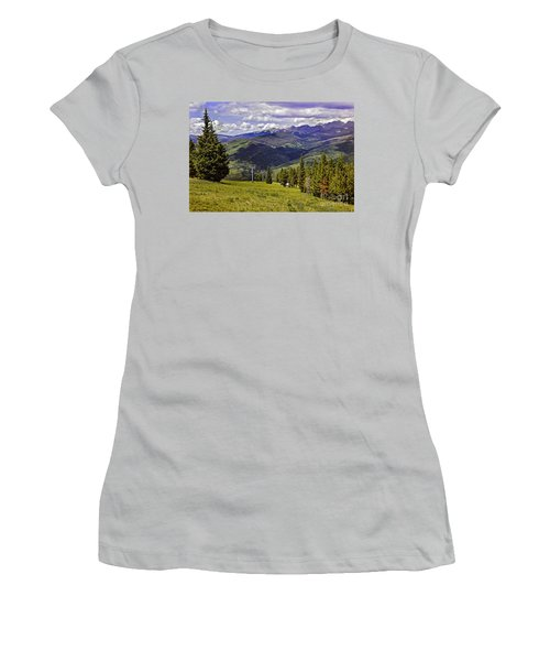 Summer Lifts - Vail Women's T-Shirt (Athletic Fit)