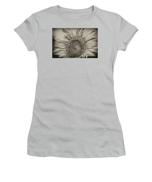 Summer Sunflower Women's T-Shirt (Junior Cut) by Wilma  Birdwell