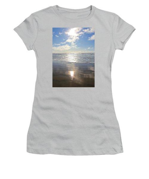 Sun And Sand Women's T-Shirt (Junior Cut) by Athena Mckinzie