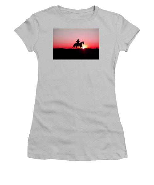 Sun Dancer Women's T-Shirt (Athletic Fit)