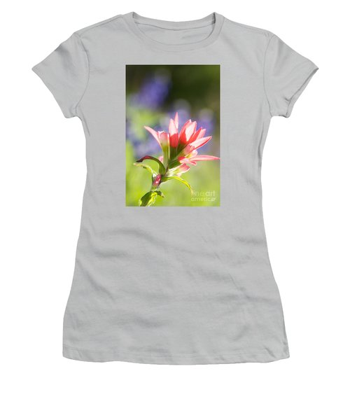Sun Filled Paintbrush Women's T-Shirt (Athletic Fit)