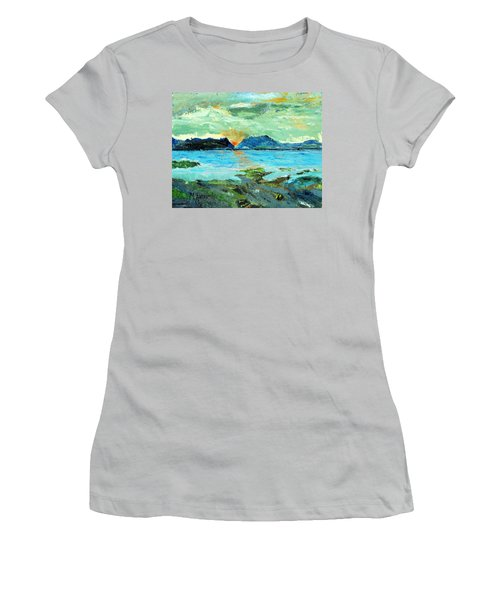 Sunset At Bic Women's T-Shirt (Athletic Fit)