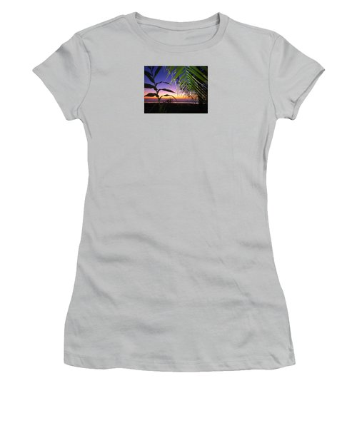 Sunset At Sano Onofre Women's T-Shirt (Athletic Fit)