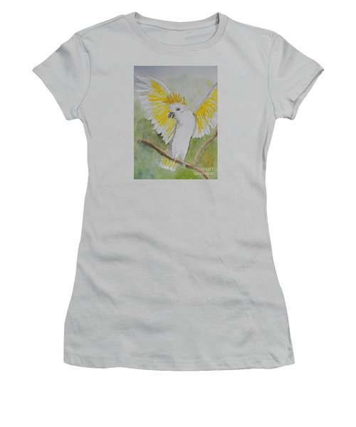 Suphar Crested Cockatoo Women's T-Shirt (Athletic Fit)