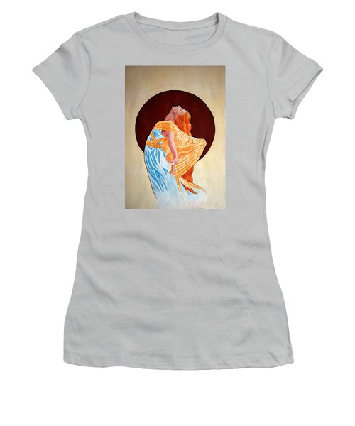 Surrender Women's T-Shirt (Junior Cut) by Leena Pekkalainen
