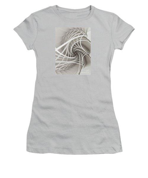 Suspension Bridge-fractal Art Women's T-Shirt (Athletic Fit)