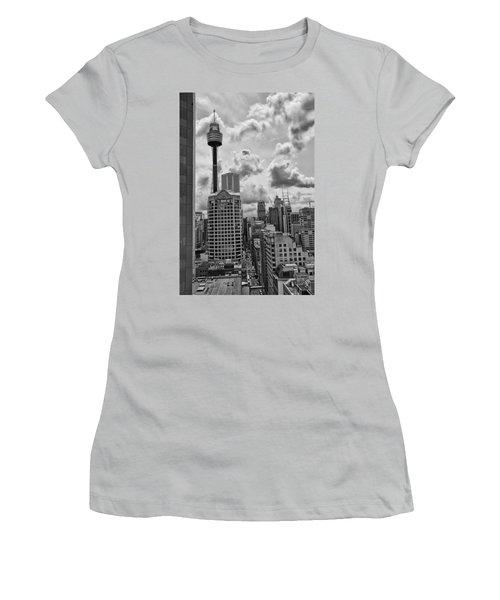 Sydney Skyline Women's T-Shirt (Junior Cut) by Douglas Barnard