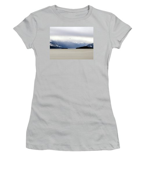 Women's T-Shirt (Junior Cut) featuring the photograph Take Flight by Jennifer Wheatley Wolf