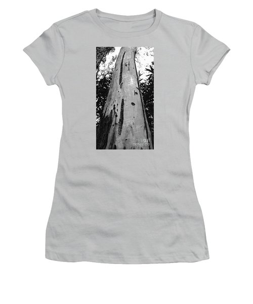 Women's T-Shirt (Junior Cut) featuring the photograph Tall by Clare Bevan