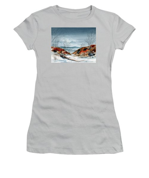 The Approaching Evening Women's T-Shirt (Athletic Fit)
