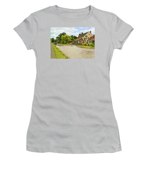 The Barge Inn Seend Women's T-Shirt (Athletic Fit)