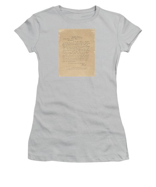 The Bixby Letter Women's T-Shirt (Junior Cut) by Celestial Images