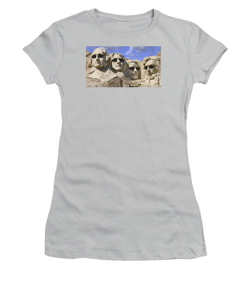 The Boys Of Summer 2 Panoramic Women's T-Shirt (Athletic Fit)