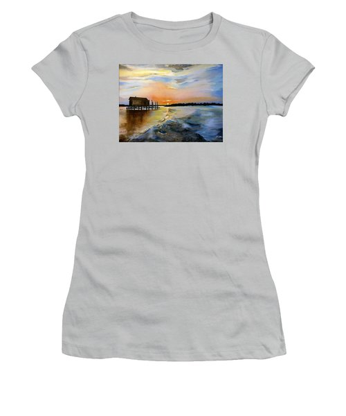 The Camp Women's T-Shirt (Athletic Fit)
