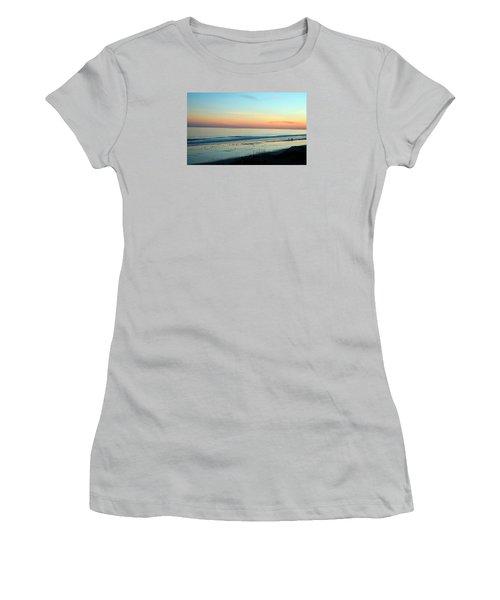 The Day Ends Women's T-Shirt (Athletic Fit)