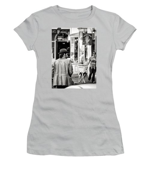 The Dude Women's T-Shirt (Junior Cut) by William Beuther
