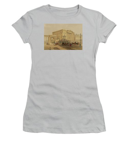 The Exterior Of Apsley House, 1853 Women's T-Shirt (Junior Cut) by English School