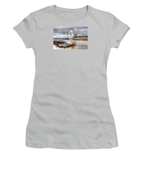 The Eye Across The Thames Women's T-Shirt (Athletic Fit)