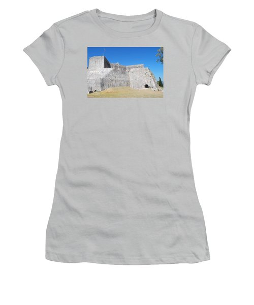 Women's T-Shirt (Junior Cut) featuring the photograph The Fort Never Fell by George Katechis