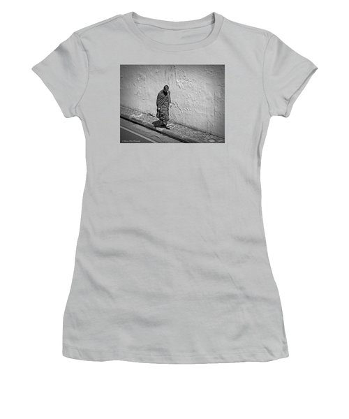 Women's T-Shirt (Junior Cut) featuring the photograph The Journey  by Lucinda Walter