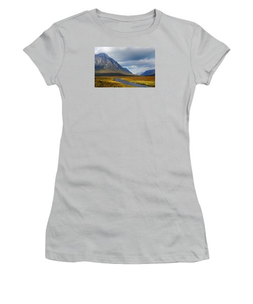 The River Runs Through It Women's T-Shirt (Junior Cut) by Wendy Wilton