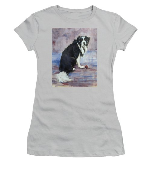 Women's T-Shirt (Junior Cut) featuring the painting The Twilight Years by Cynthia House