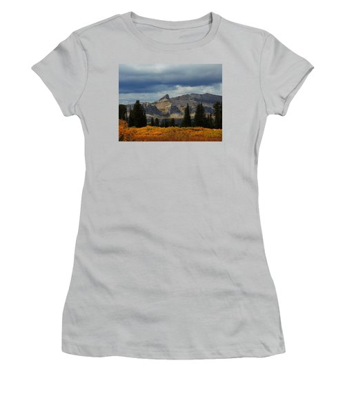 Women's T-Shirt (Junior Cut) featuring the photograph The Wedge by Raymond Salani III
