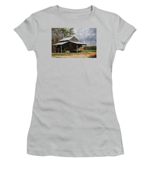 Tobacco Barn In North Carolina Women's T-Shirt (Athletic Fit)