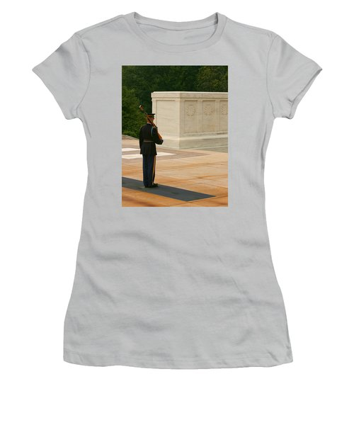 Tomb Of The Unknown Soldier Women's T-Shirt (Athletic Fit)