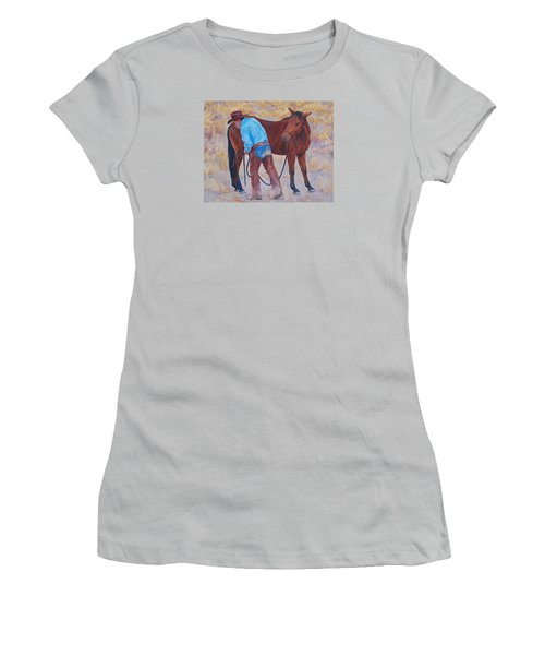 Turn About Is Fair Play  Women's T-Shirt (Athletic Fit)