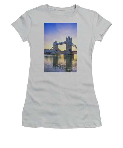 Tower Bridge Sunrise Women's T-Shirt (Athletic Fit)