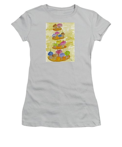 Tower Of Treats Women's T-Shirt (Athletic Fit)