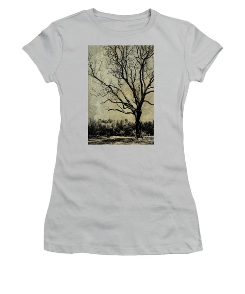 Tree Before Spring Women's T-Shirt (Athletic Fit)