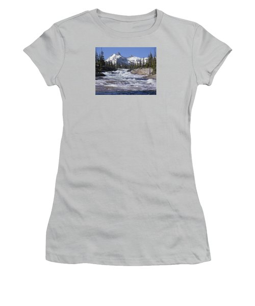 6m6539-tuolumne River  Women's T-Shirt (Athletic Fit)