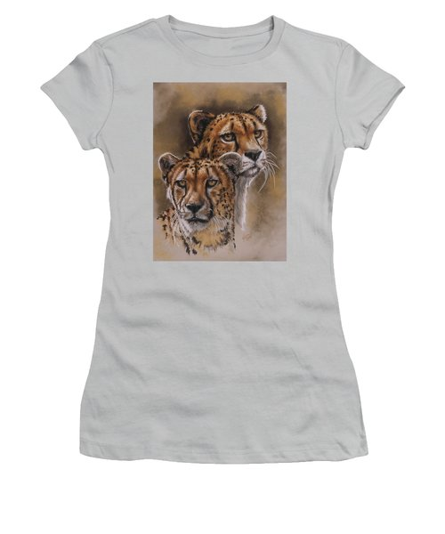 Twins Women's T-Shirt (Junior Cut) by Barbara Keith
