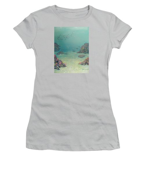 Under The Sea Women's T-Shirt (Athletic Fit)