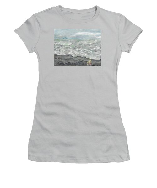 Untitled Seascape Women's T-Shirt (Athletic Fit)