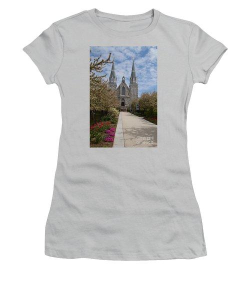 Villanova University Main Chapel  Women's T-Shirt (Athletic Fit)