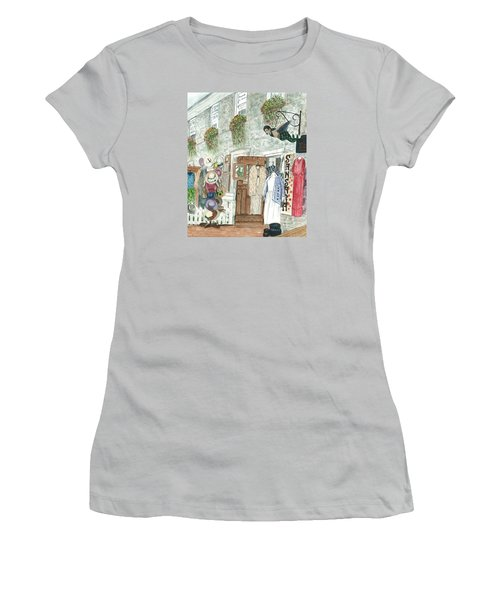 Vintage New Hope Women's T-Shirt (Junior Cut) by Vickie G Buccini