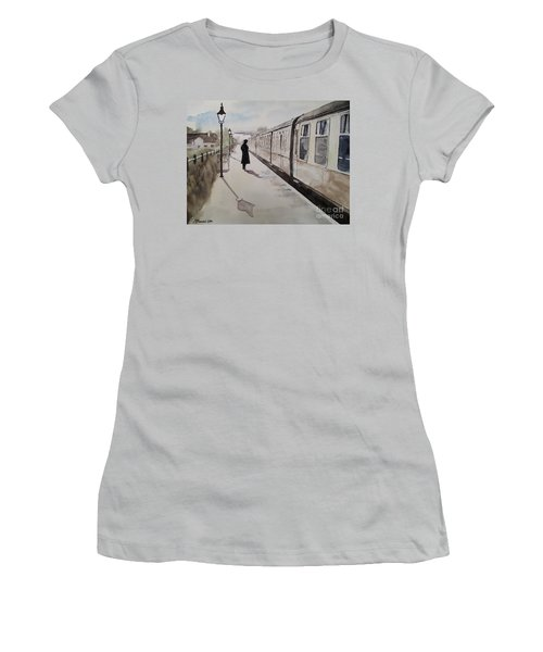 Waiting At Williton Women's T-Shirt (Athletic Fit)